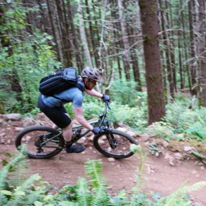 Erik riding at Sandy Ridge
