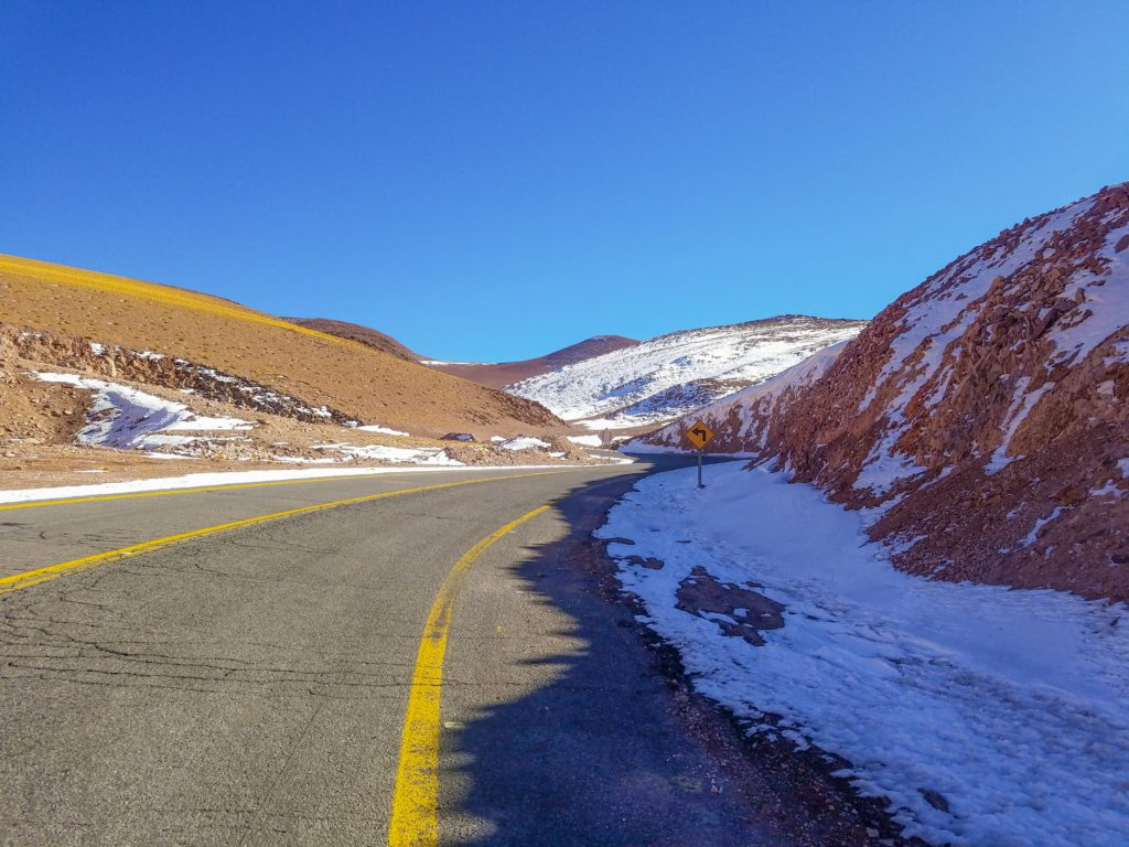 Sunny Skies and nearing the first 18,000 ft (5,490 m) pass of the day