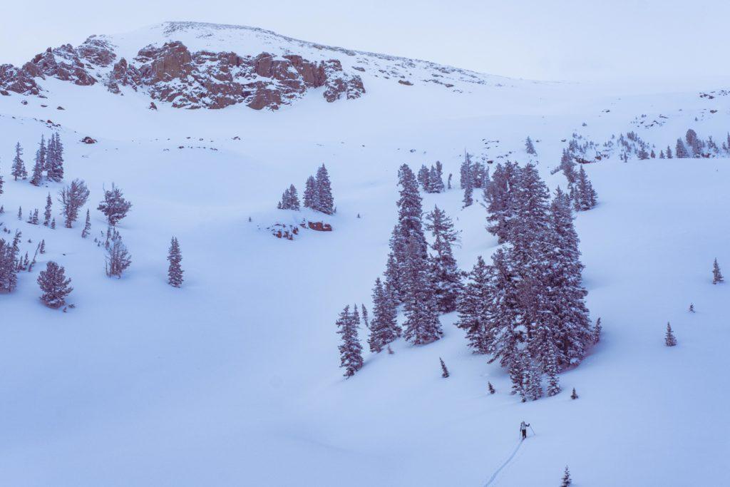 So much untouched snow