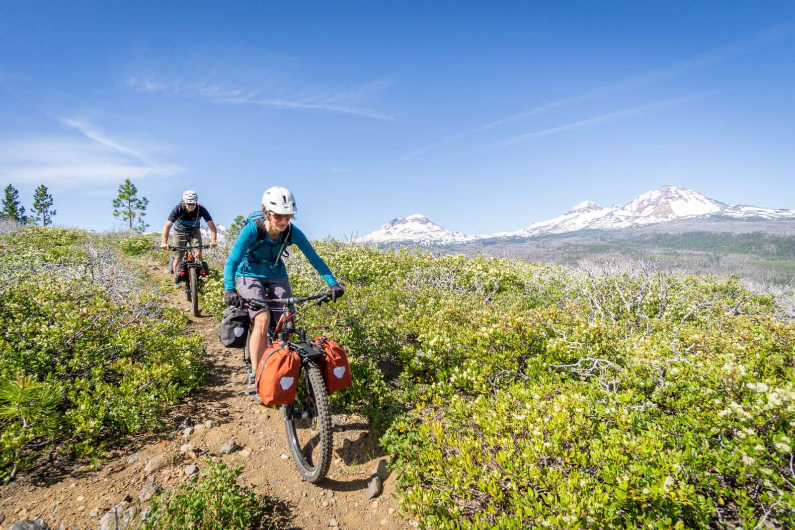 Bikepacking the Deschutes Tier of the Oregon Timber Trail