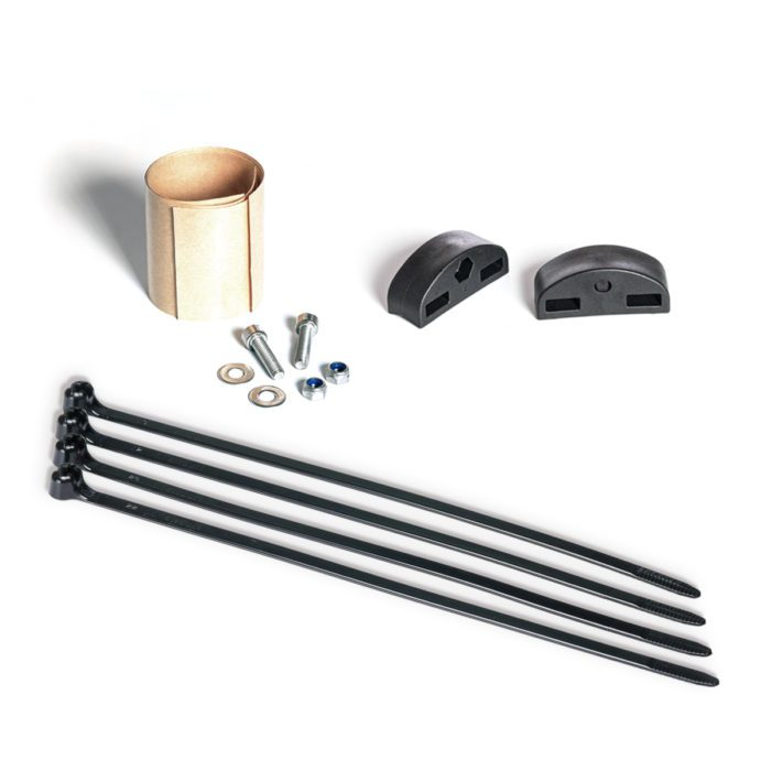 Fit Kit small parts for mounting a bike rack on a mountain bike