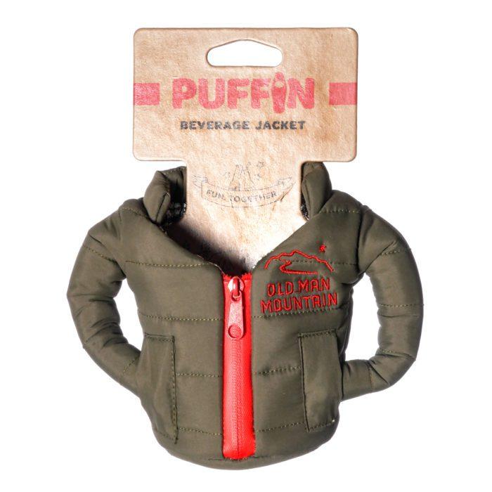 puffin beverage jacket
