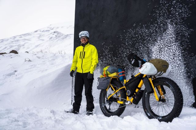 Our bosses, Katy and Chris, can attest to the number of hours we spent talking about gear before our week long trip on the Oregon Timber Trail. Having the right equipment can make a huge difference in how a trip goes. Especially when extreme weather shows up.  @chrisburkard @rebeccarusch and @thatisgus had some dialed bikes on their Iceland traverse earlier this year. @fezzari_bicycles with our racks, that we painted to match and @revelatedesigns panniers make a great base to any big ride. #iceland #bikepacking #bikepackinggear #bikelife #biketour #fatbike